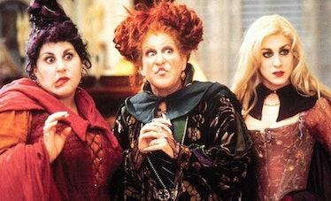 The Sanderson sisters in 'Hocus Pocus'