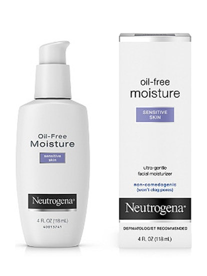 Oil-Free Moisture Sensitive Skin Ultra-Gentle Facial Moisturizer