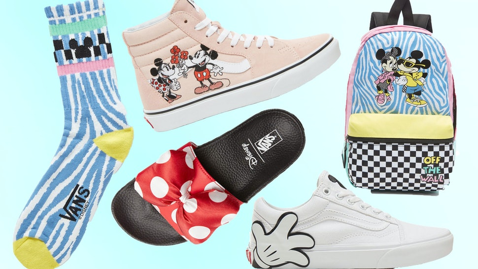 af9bbc5f6ee Where To Buy The Vans x Mickey Mouse Collection In The UK