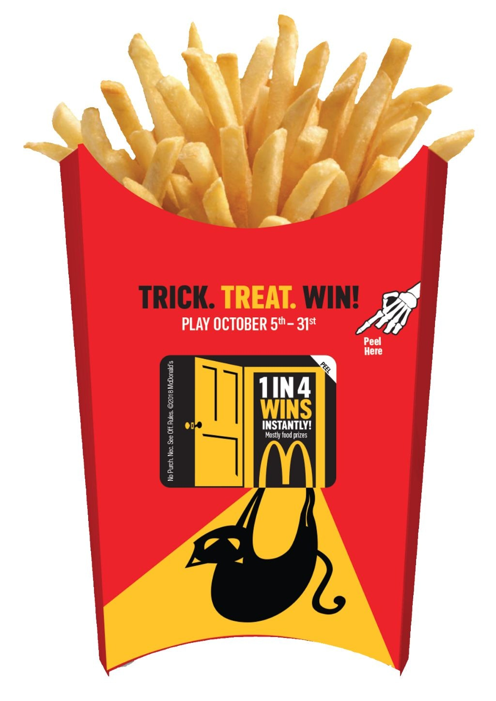 """Here's How To Play McDonald's' """"Trick  Treat  Win"""
