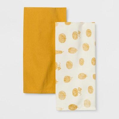 Pumpkin Kitchen Towel Cream/Yellow - Threshold™