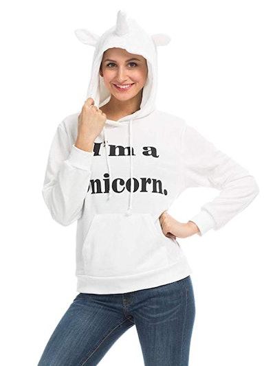 Persun Unicorn Pullover Hoodie
