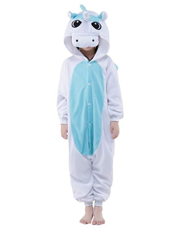 Onesie Kids Unicorn Costume