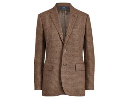 Houndstooth Tweed Blazer