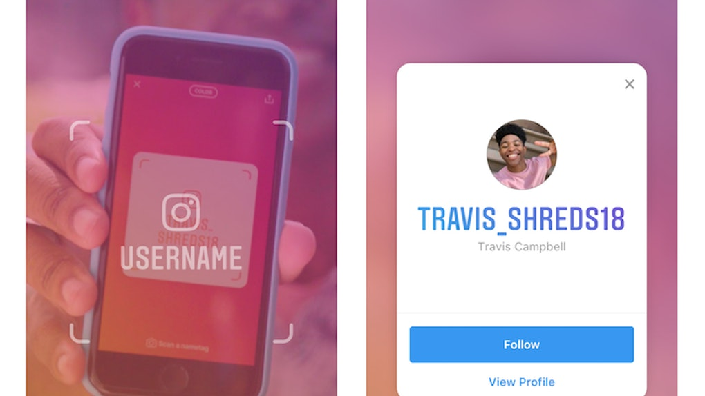How Do You Make An Instagram Nametag? It's Actually Pretty