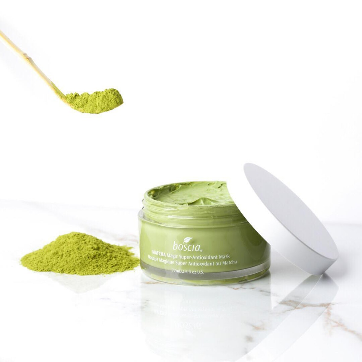 Boscia's Matcha Magic Mask Is The Soothing Green Mask Your Middle School Heart Will Love
