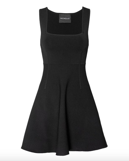 Nicholas Milano Square Neck Mini Dress