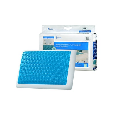 Comfort Revolution Memory Foam And Hydraluxe Cooling Pillow