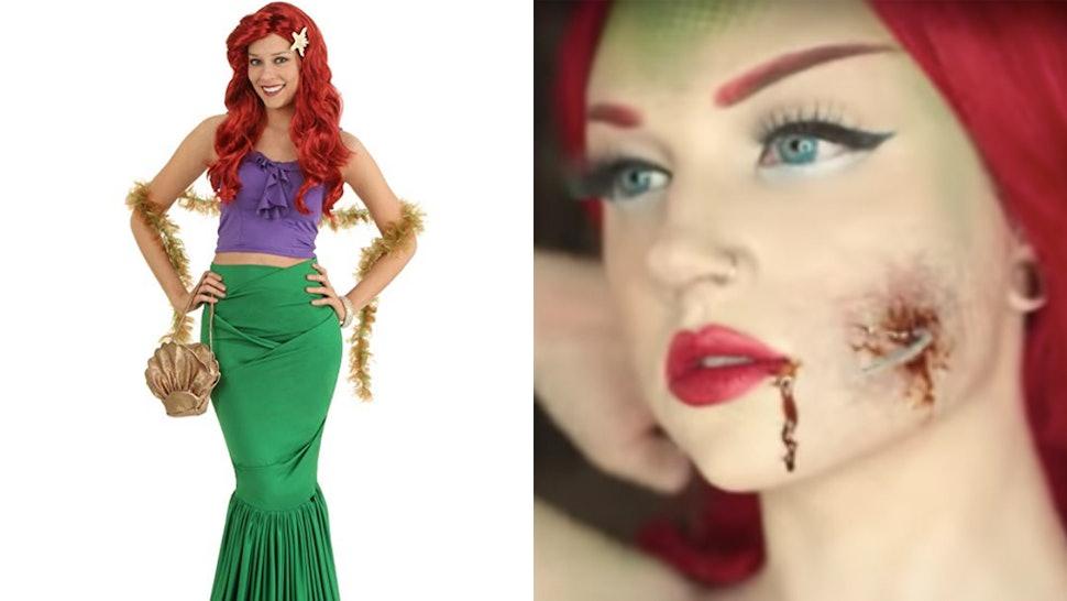 Disney Halloween Costume Ideas.6 Zombie Disney Princess Halloween Costume Ideas To Put A Creepy