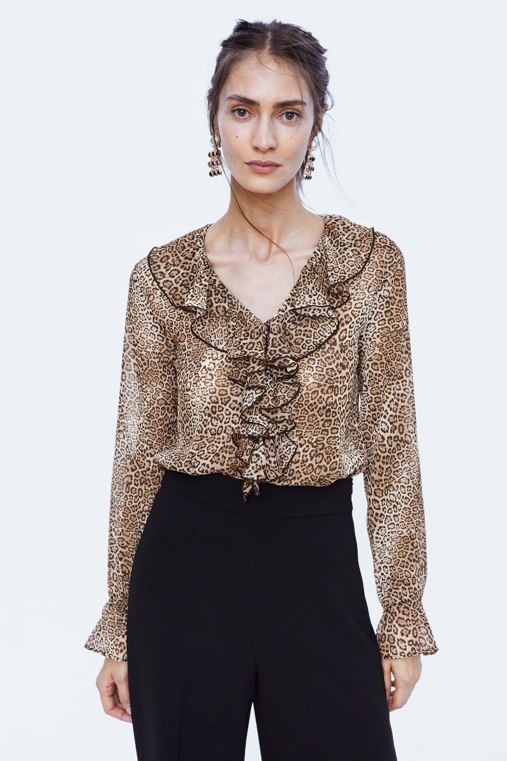 a1a9c9b6bb5b Zara Printed Shirt With Pouch Pocket | Top Mode Depot