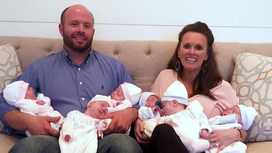 "The Waldrop Family from TLC's ""Sweet Home Sextuplets"""