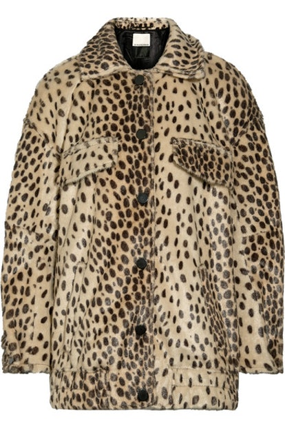 Tidara Leopard Print Jacket