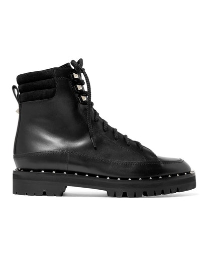 Soul Rockstud leather ankle boo