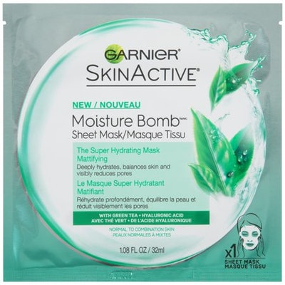 Garnier SkinActive Moisture Bomb The Super Hydrating Mattifying Sheet Mask (6 pack)