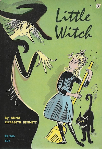 'Little Witch' by Anna Elizabeth Bennet (used copy)