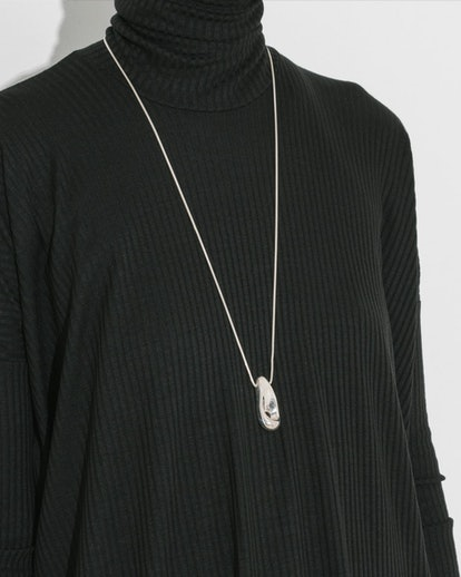 Leigh Miller Sterling Silver Droplet Necklace in Sterling Silver