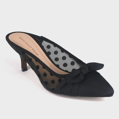 Women's Kitten Heeled Mules - Who What Wear™