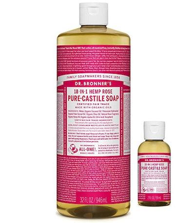 Dr. Bronner's Hemp Rose Pure-Castille Soap