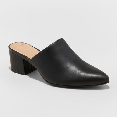 Women's Bianca Pointed Heeled Mules - A New Day™