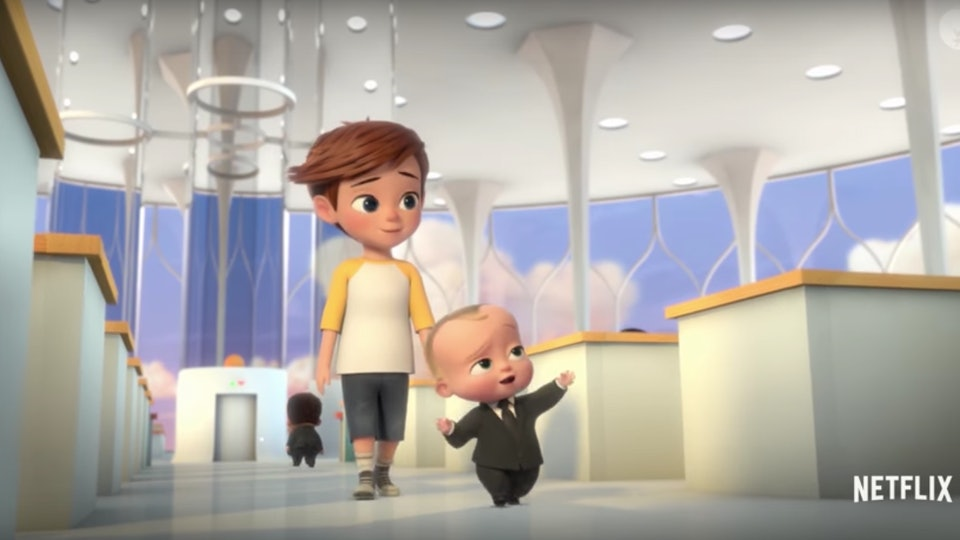 The Boss Baby Returns To Netflix To Take On Some Elderly