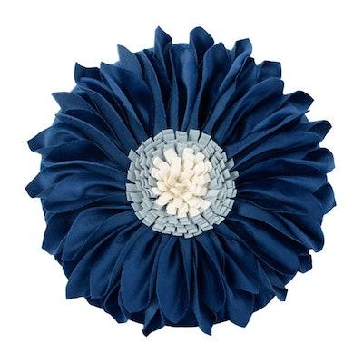 JWH Handmade 3D Flowers Accent Pillows