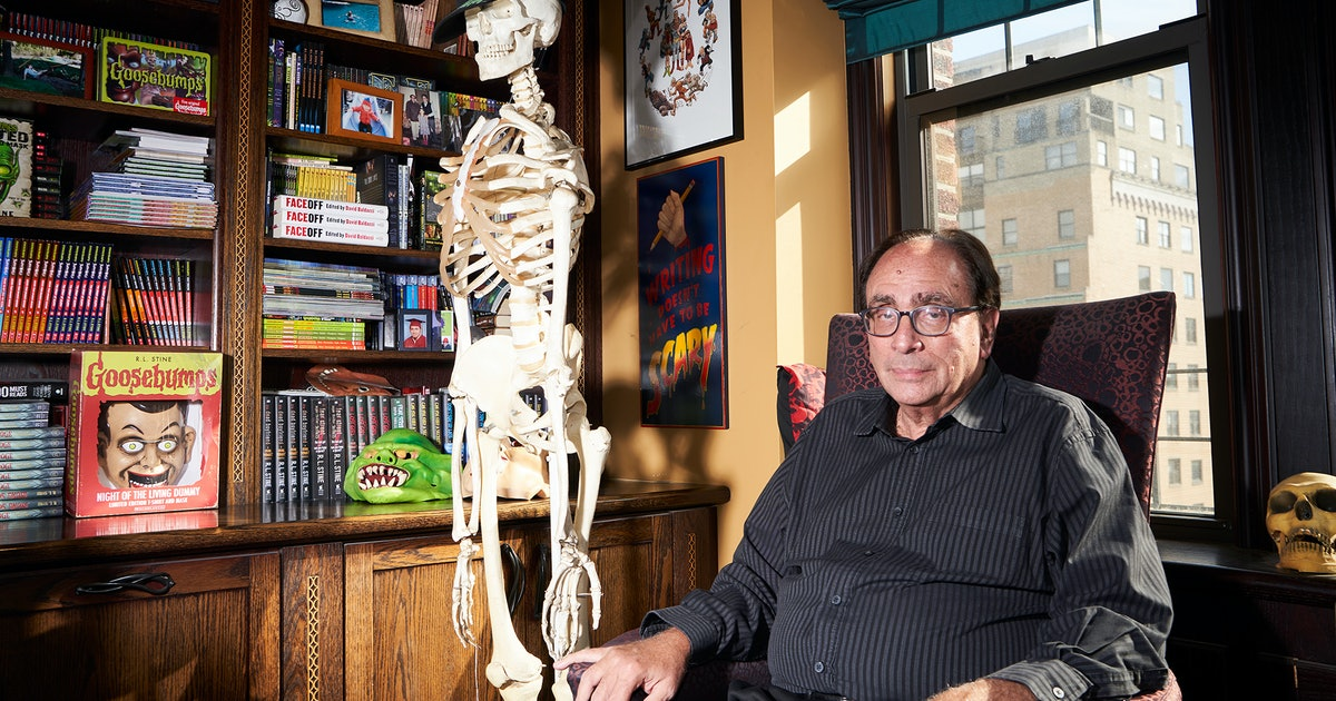 R.L. Stine's Office Is Just As Spooky As The Books He's Been Writing For Kids For 26 Years