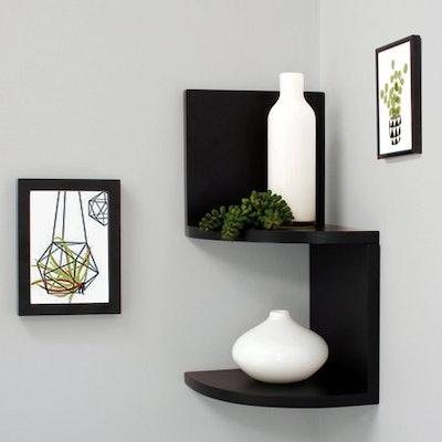 """Kiera Grace Priva 7"""" Corner Shelves"""