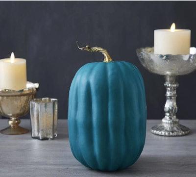 Faux Teal Pumpkin