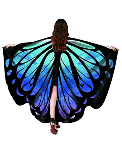 Shireake Baby Halloween/Party Prop Soft Fabric Butterfly Wings