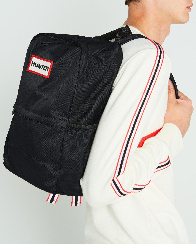 Original Nylon Backpack: Black