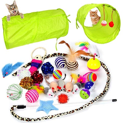 Youngever Cat Toys Assortment (24-Pack)