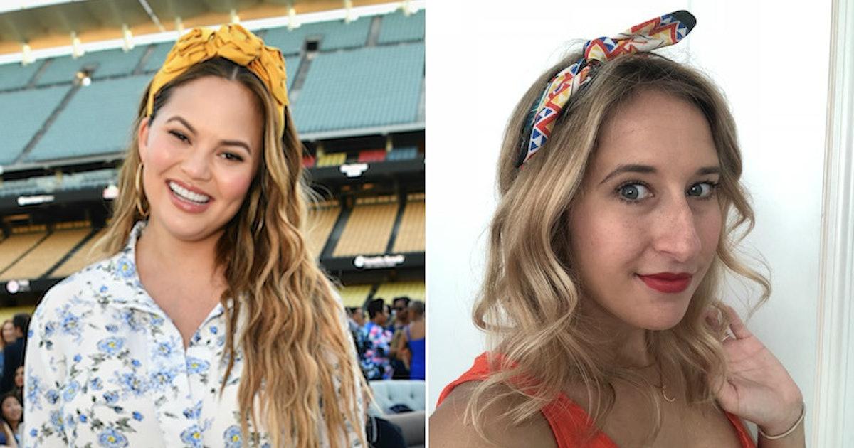 I Tried Wearing Headbands Like Chrissy Teigen For A Week & It Was Harder Than It Looks