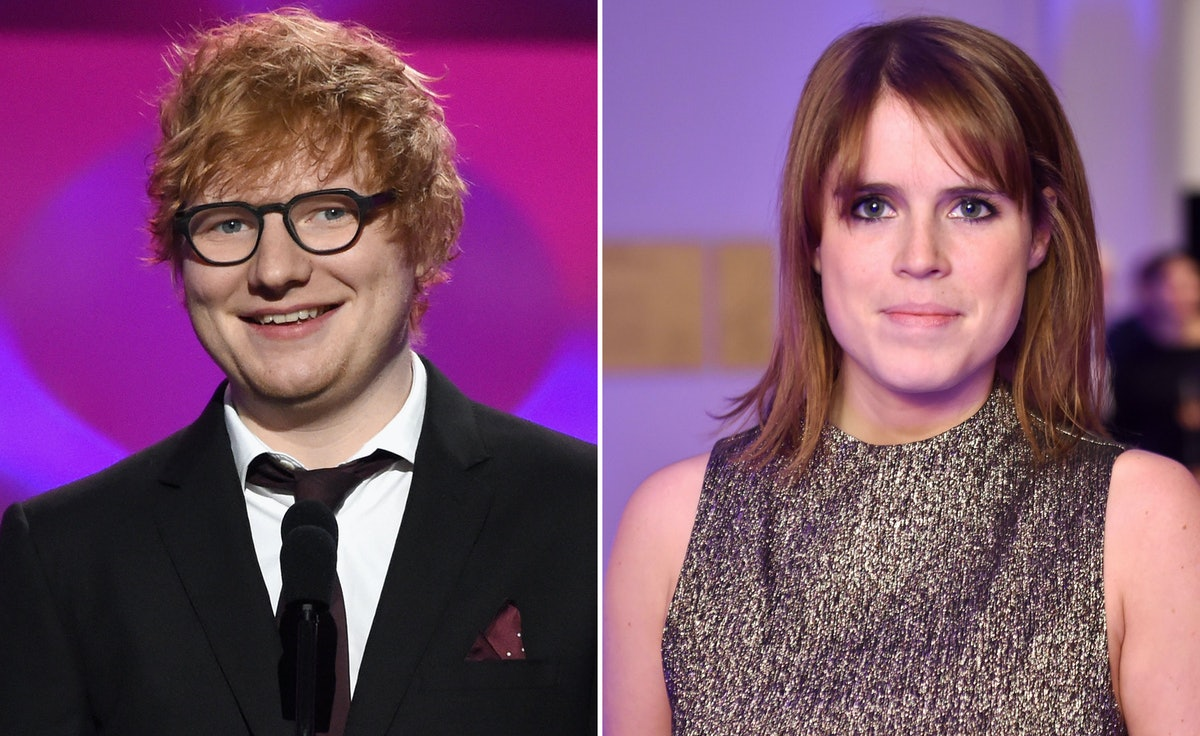 Will Ed Sheeran Be At Princess Eugenie's Wedding? The Pair Are Reportedly Good Friends