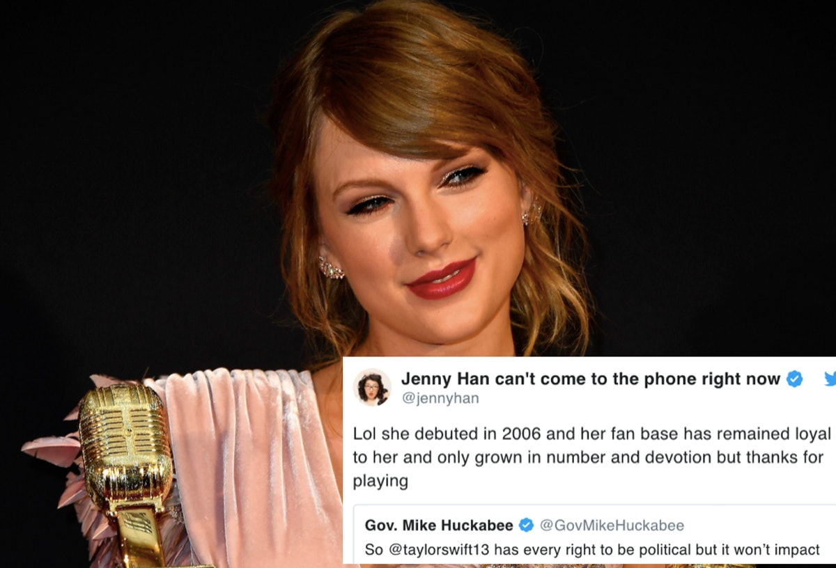 """Mike Huckabee's Taylor Swift Tweet Didn't Go Over Well With A Lot Of Former """"13-Year-Old Girls"""""""