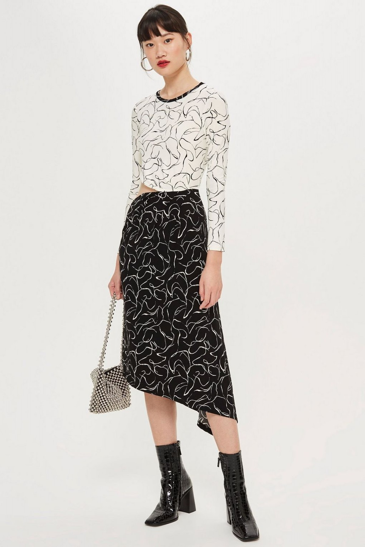 Scribble Mix and Match Dress
