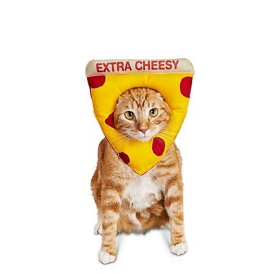 Bootique Cheesy Pizza Cat Costume