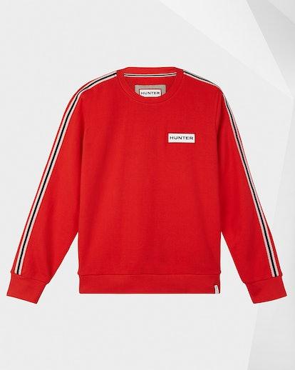 Women's Original Campus Sweatshirt: Hunter Red