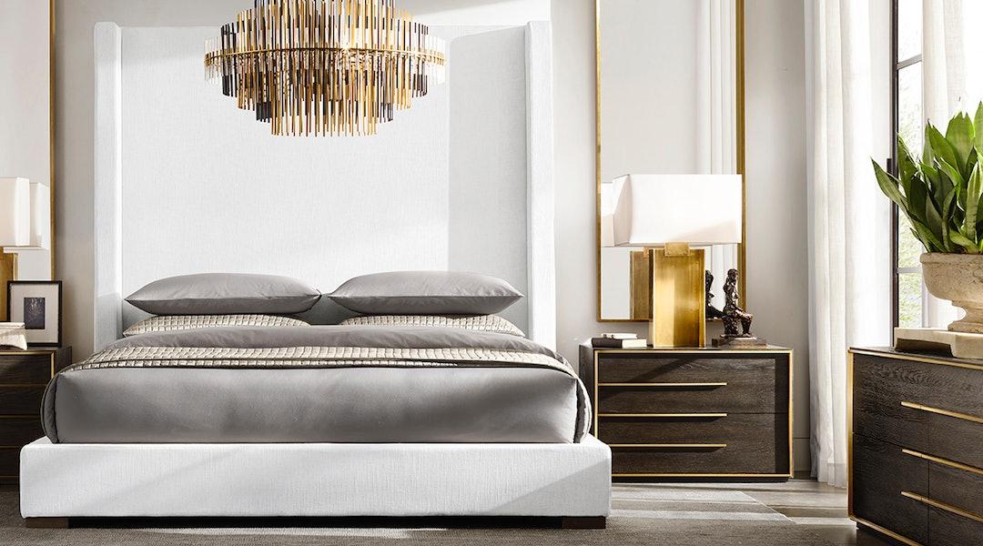 Restoration Hardware S Sale Includes Luxury Bedding Rugs Decor