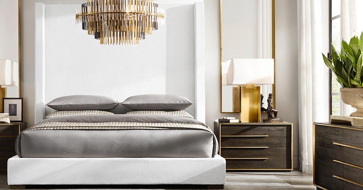 Restoration Hardware S Sale Includes Luxury Bedding Rugs