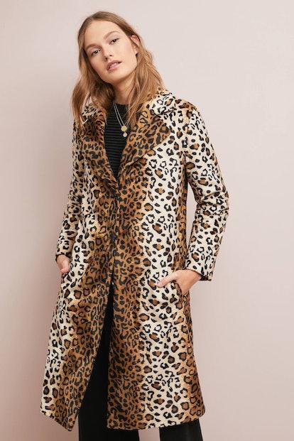 Classic Leopard Coat
