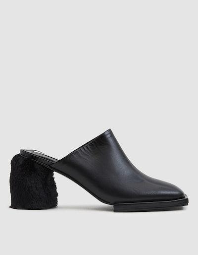 Square Toe Platform Heels