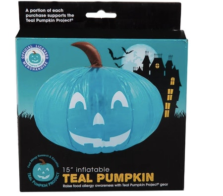 Hyde and Eek! Boutique™ Inflatable 15 Inch Teal Pumpkin