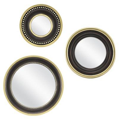 Mainstays 3-Piece Round Mirror Set