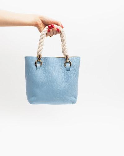 Janis Studios Darka Bag in Baby Blue Size Small