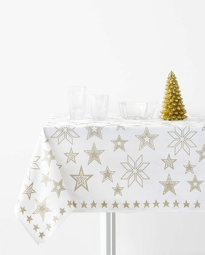 Printed Tablecloth From 6 To 8 Guests