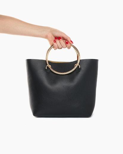 Janis Studios Darka Bag in Black Size Big