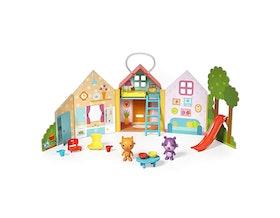Jinja's House 13-Piece Portable Playset (3+)