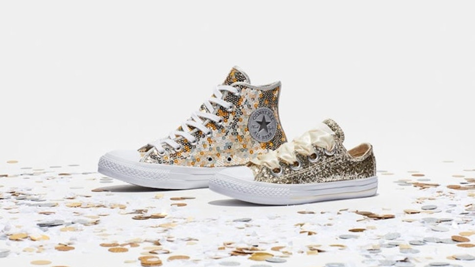69ed24877f27 Where Can You Buy Converse s Holiday Scene Sequins Collection  Your Holiday   OOTD Doesn t Need To Include Painful Heels