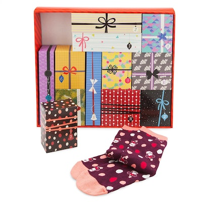 Disney Socks Advent Calendar Gift Set for Women
