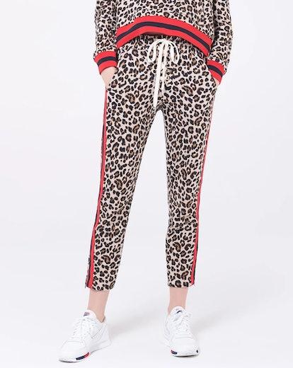 Althea Sweatpant in Leopard